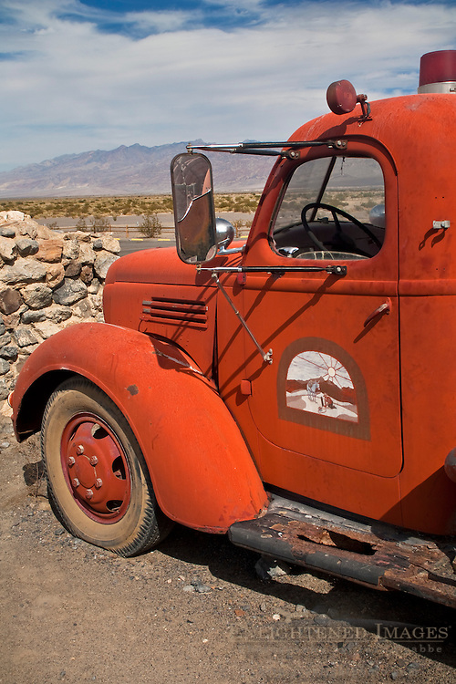 Antique Fire truck, Stovepipe Wells, Death Valley National Park, California