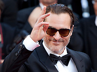 Actor Joaquin Phoenix arriving to the Closing Ceremony and awards at the 70th Cannes Film Festival Sunday 28th May 2017, Cannes, France. Photo credit: Doreen Kennedy