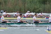 Lucerne, SWITZERLAND.<br /> <br /> Men's Eights Final. GER. M8+, Bow. MUNSKI Maximilian, JAKSCHIK Malte, KUFFNER Andreas, DRAHOTTA Felix, REINELT Maximilian, JOHANNESEN Eric, SCHMIDT Richard, OCIK Hannes and cox SAUER Martin2016 FISA WCII. Lake Rotsee<br /> <br /> Sunday  29/05/2016<br /> <br /> [Mandatory Credit; Peter SPURRIER/Intersport-images]