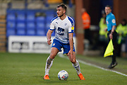 Liam Ridehalgh of Tranmere Rovers  during the EFL Sky Bet League 2 play off first leg match between Tranmere Rovers and Forest Green Rovers at Prenton Park, Birkenhead, England on 10 May 2019.