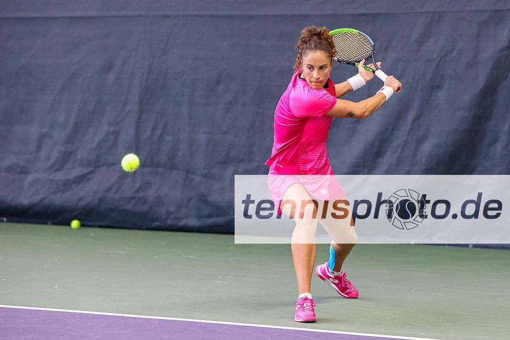 Im Bild: Martina CAREGARO (ITA) <br /> <br /> Tennis Future Hamburg - ITF-W25 Hamburg, Hamburg, Tennis-Verband Hamburg, 12.01.2021, <br /> <br /> Foto: Claudio Gärtner