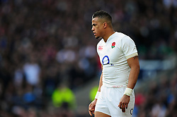 Anthony Watson of England - Mandatory byline: Patrick Khachfe/JMP - 07966 386802 - 12/03/2016 - RUGBY UNION - Twickenham Stadium - London, England - England v Wales - RBS Six Nations.