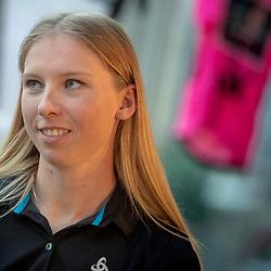 09-02-2019: Wielrennen: Presetatie UCI team Parkhotel Valkenburg: Valkenburg<br /> VALKENBURG (NED) womenscycling <br /> Lorena Wiebes (Mijdrecht) heeft haar ambities voor het nieuwe seizoen opgeschroefd. Was de Zuid-Hollandse vorig jaar als eerstejaars al goed voor de nodige overwinningen in het Europese circuit, nu mikt ze een niveau hoger.