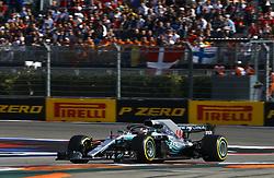 September 30, 2018 - Sochi, Russia - Motorsports: FIA Formula One World Championship 2018, Grand Prix of Russia,  #44 Lewis Hamilton (GBR, Mercedes AMG Petronas F1 Team) (Credit Image: © Hoch Zwei via ZUMA Wire)
