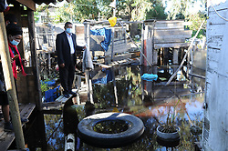 South Africa - Cape Town - 5 February 2019 - Human Rights Commissioner Chris Nissen visited the Klipfontein community where he inspected several properties which were badly affected by flooding. Picture: Henk Kruger/African News Agency<br /> (ANA)