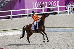 Blom Merel, NED, The Quizmaster, 251<br /> Olympic Games Tokyo 2021<br /> © Hippo Foto - Stefan Lafrentz<br /> 31/07/2021