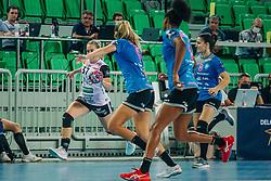 Jana Knedlikova of Norway during handball match between RK Krim Mercator (SLO) and Vipers Kristiansand (NOR), on September 12, 2020 in Arena Stožice, Ljubljana, Slovenia. Photo by Sinisa Kanizaj / Sportida