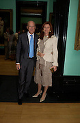 Lord and Lady Foster. Celebration of Lord Weidenfeld's 60 Years in Publishing hosted by Orion. the Weldon Galleries. National Portrait Gallery. London. 29 June 2005. ONE TIME USE ONLY - DO NOT ARCHIVE  © Copyright Photograph by Dafydd Jones 66 Stockwell Park Rd. London SW9 0DA Tel 020 7733 0108 www.dafjones.com