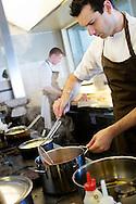 The two-Michelin star restaurant Noma in Copenhagen, Denmark. The restaurant Noma was voted the best restaurant in the world in 2010 San Pellegrino Awards, 2011 and 2012. NOT FOR COMMERCIAL USE UNLESS PRIOR AGREED WITH PHOTOGRAPHER. (Contact Christina Sjogren at email address : cs@christinasjogren.com )