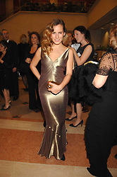 CHARLOTTE DELLAL at a Gala dinner in aid of Chickenshed held at the Guildhall, City of London on 29th October 2007.<br /><br />NON EXCLUSIVE - WORLD RIGHTS