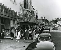 1947 El Capitan Theater on Vine St.