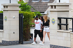 Manchester United new signing Fred goes Manchestersion hunting in Cheshire with his girlfriend Monique Salum and some of his family.