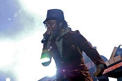 Will.I.Am durante o show da banda Black Eyed Peas, no auditório da FIERGS, em Porto Alegre-RS. FOTO: Luiz A. Guerreiro/Preview.com