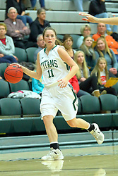 06 December 2017:  Molly McGraw during an NCAA women's basketball game between the Wheaton Thunder and the Illinois Wesleyan Titans in Shirk Center, Bloomington IL