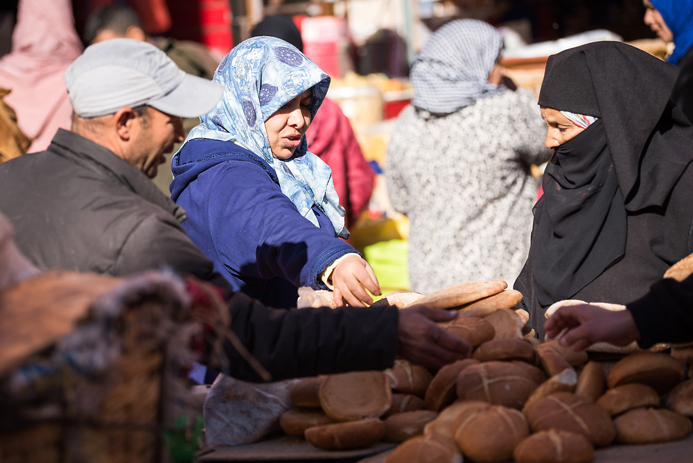 12 January 2018, Marrakesh, Morocco: The Marrakesh Medina, listed as a UNESCO World Heritate site, forms an old fortified city centre of narrow streets, shops and vendor stalls. The city of Marrakesh was founded in 1070-1072, and has long been a political, economic and cultural centre.