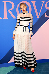 June 5, 2017 - New York, NY, USA - June 5, 2017  New York City..Elsa Hosk attending the 2017 CFDA Fashion Awards on June 5, 2017 in New York City. (Credit Image: © Kristin Callahan/Ace Pictures via ZUMA Press)