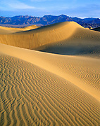 Sand Dunes near Mesquite Flat, Death Valley National Park, California