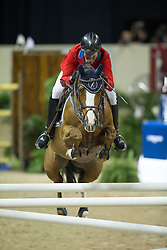 Fellers Rich, (USA), Flexible <br />  Longines FEI World Cup™ Jumping Final Las Vegas 2015<br />  © Hippo Foto - Dirk Caremans<br /> Final III round 2 - 19/04/15