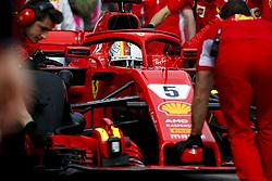 March 24, 2018 - Melbourne, Victoria, Australia - 5 Sebastian Vettel (GER, Scuderia Ferrari) Motorsports: FIA Formula One World Championship 2018, Melbourne, Victoria : Motorsports: Formula 1 2018 Rolex  Australian Grand Prix, (Credit Image: © Hoch Zwei via ZUMA Wire)