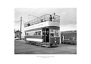 Howth tram leaving the station en route to Sutton.<br />