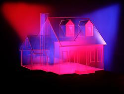 glass house transparent transparency spotlit spotlights cliche CONCEPT STOCK PHOTOS CONCEPT STOCK PHOTOS