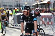 Ben Swift of Team Sky after the London Stage of the Aviva Tour of Britain, Regent Street, London, United Kingdom on 13 September 2015. Photo by Ellie Hoad.