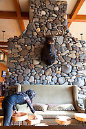 The River Rock Dining Room at Skamania Lodge located in Washington's Columbia River Gorge