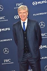 February 18, 2019 - Monaco, Monaco - Arsene Wenger arriving at the 2019 Laureus World Sports Awards on February 18, 2019 in Monaco  (Credit Image: © Famous/Ace Pictures via ZUMA Press)