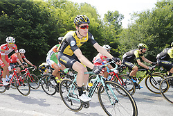 May 26, 2018 - Cervinia, ITALY - Belgian Gijs Van Hoecke of Team LottoNL-Jumbo pictured in action during stage 20 of the 101st edition of the Giro D'Italia cycling tour, 214km from Susa to Cervinia, Italy, Saturday 26 May 2018...BELGA PHOTO YUZURU SUNADA FRANCE OUT (Credit Image: © Yuzuru Sunada/Belga via ZUMA Press)