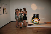 REBECCA SQUIRES, JUSTINE TUCKER AND FLORENCE HORSEY, ' Show Off' Theo Fennell exhibition co-hosted wit Vanity Fair. Royal Academy. Burlington Gdns. London. 27 September 2007. -DO NOT ARCHIVE-© Copyright Photograph by Dafydd Jones. 248 Clapham Rd. London SW9 0PZ. Tel 0207 820 0771. www.dafjones.com.