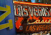 "The Neon Boneyard features more than 150 signs. For many years, the Young Electric Sign Company stored many of these old signs in their ""boneyard."" The signs were slowly being destroyed by exposure to the elements. Private donations and loans have expanded the collection to the current size."
