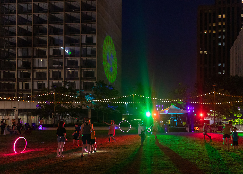 Rave on Main in July 2019.