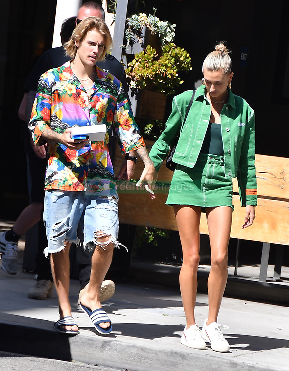 justin bieber and hailey baldwin seen leaving sugarfish sushi in Beverly Hills. 30 Sep 2018 Pictured: JUSTIN BIEBER AND HIS FIANCE LEAVING SUGAR FISH RESTAURANT IN BEVERLY HILLS CALIFORNIA. Photo credit: GIOVANNI/MEGA TheMegaAgency.com +1 888 505 6342