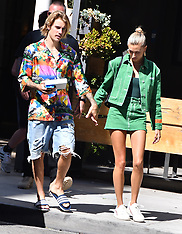Justin Bieber & Hailey Baldwin - 31 Aug 2018