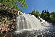 Waterfall on Mink Creek<br /> 10 kms West of Marathon<br /> Ontario<br /> Canada