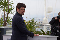 Jury President Benicio Del Toro at the Jury Un Certain Regard photo call at the 71st Cannes Film Festival, Wednesday 9th May 2018, Cannes, France. Photo credit: Doreen Kennedy