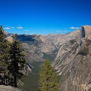 Half Dome Wide View- Glacier Point View - Yosemite