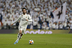 January 25, 2019 - Madrid, Madrid, Spain - Isco Alarcon (Real Madrid) seen in action during the Copa del Rey Round of quarter-final first leg match between Real Madrid CF and Girona FC at the Santiago Bernabeu Stadium in Madrid, Spain. (Credit Image: © Manu Reino/SOPA Images via ZUMA Wire)