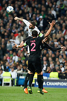 Real Madrid´s Sergio Ramos during Champions League soccer match between Real Madrid  and Paris Saint Germain at Santiago Bernabeu stadium in Madrid, Spain. November 03, 2015. (ALTERPHOTOS/Victor Blanco)