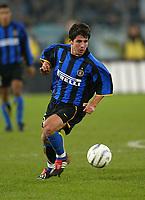 Roma 8 dicembre 2002<br />Lazio - Inter 3-3<br />Belozoglu Emre
