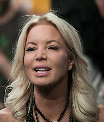 October 20, 2018 - Los Angeles, California, U.S - Owner, Jeanie Buss of the Los Angeles Lakers during their NBA game with the Houston Rockets on Saturday October 20, 2018 at the Staples Center in Los Angeles, California. (Credit Image: © Prensa Internacional via ZUMA Wire)