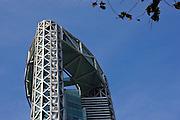 Jongno Tower a modern skyscraper on the skyline of Seoul, South Korea.Architect: Rafael Viñoly