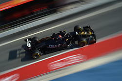 February 21, 2019 - Barcelona, Spain - Danish driver Kevin Magnussen of American team Rich Energy Haas F1 Team driving his single-seater during Barcelona winter test in Catalunya Circuit in Montmel?, Spain  (Credit Image: © Andrea Diodato/NurPhoto via ZUMA Press)