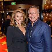 NLD/Amsterdam/20190124 - Inloop 25-jarig jubileum Talkies Magazine NL., Rene van Dam en partner Karin
