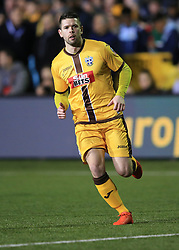 20 February 2017 - The FA Cup - (5th Round) - Sutton United v Arsenal - Dan Fitchett of Sutton - Photo: Marc Atkins / Offside.