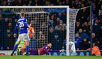Blackpool's Jak Alnwick makes a late save from Ipswich Town's Alan Judge<br /> <br /> Photographer Chris Vaughan/CameraSport<br /> <br /> The EFL Sky Bet League One - Ipswich Town v Blackpool - Saturday 23rd November 2019 - Portman Road - Ipswich<br /> <br /> World Copyright © 2019 CameraSport. All rights reserved. 43 Linden Ave. Countesthorpe. Leicester. England. LE8 5PG - Tel: +44 (0) 116 277 4147 - admin@camerasport.com - www.camerasport.com