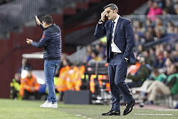March 9, 2019 - Barcelona, Catalonia, Spain - Valverde during the match FC Barcelona v Rayo Vallecano, for the round 27 of La Liga played at Camp Nou  on 9th March 2019 in Barcelona, Spain. (Credit Image: © Mikel Trigueros/NurPhoto via ZUMA Press)