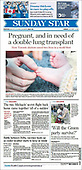 October 03, 2021 - CANADA: Front-page: Today's Newspapers In Canada
