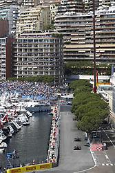 May 27, 2017 - Monte Carlo, Monaco - Motorsports: FIA Formula One World Championship 2017, Grand Prix of Monaco, .#22 Jenson Button (GBR, McLaren Honda), #26 Daniil Kvyat (RUS, Scuderia Toro Rosso) (Credit Image: © Hoch Zwei via ZUMA Wire)