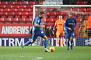 AFC Wimbledon midfielder Anthony Wordsworth (40) dribbling during the EFL Sky Bet League 1 match between Charlton Athletic and AFC Wimbledon at The Valley, London, England on 15 December 2018.